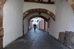 Unterwegs in den Gassen von Trier